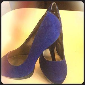 High heels/blue